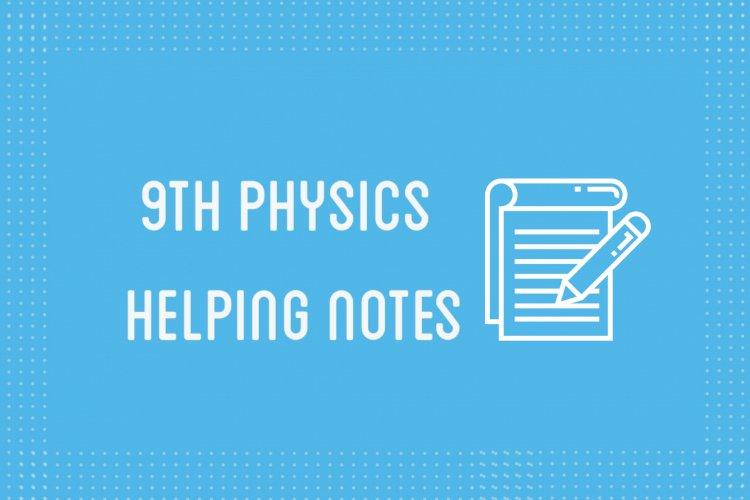 9th Class Physics Notes (English & Urdu Medium)