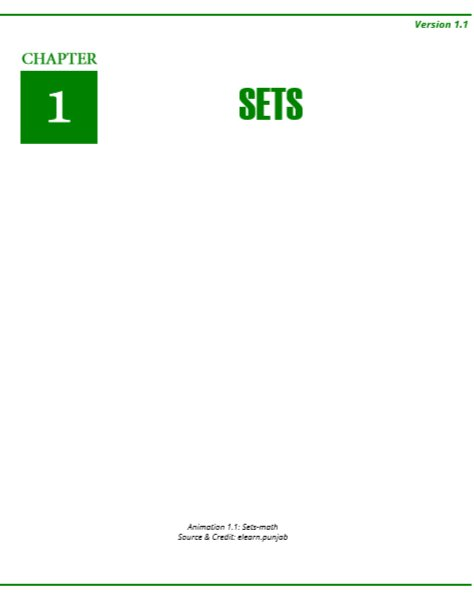 Seventh Maths Text Book By PCTB in PDF for English Medium